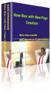 osCommerce Software New Box New Page Creation